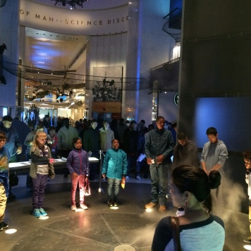 Field trip to the MSI Chicago